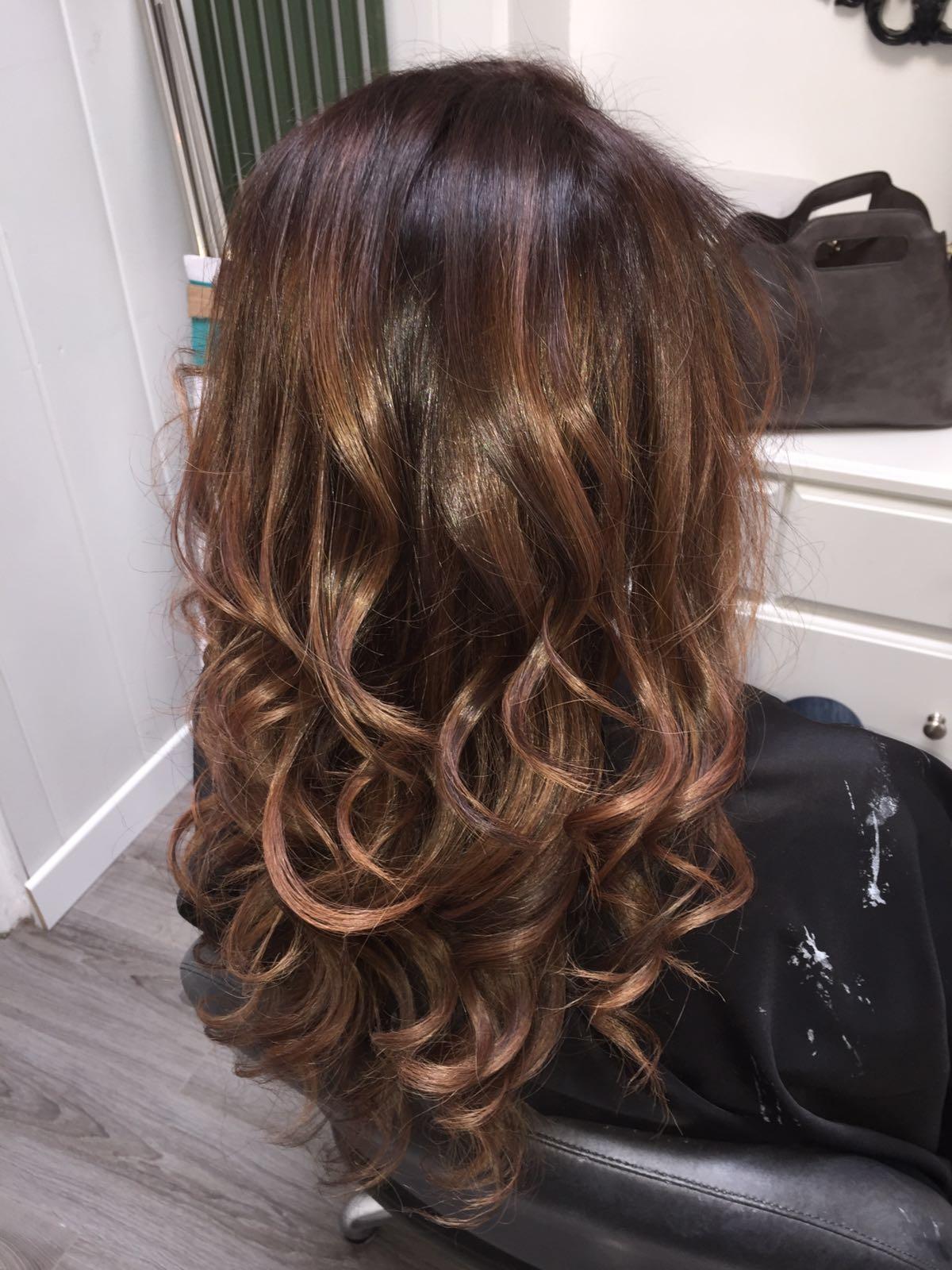 le salon de naelle l 39 ombr hair ou tie and dye