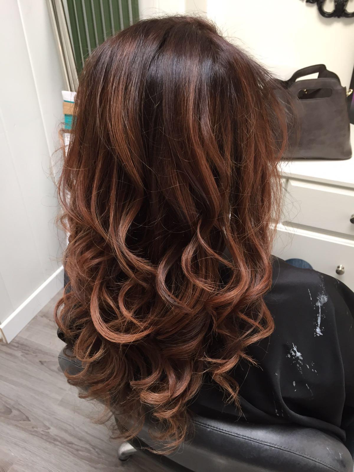 Ombr hair cuivr caramel - Ombre hair caramel miel ...